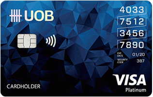 uob บัตรเครดิต